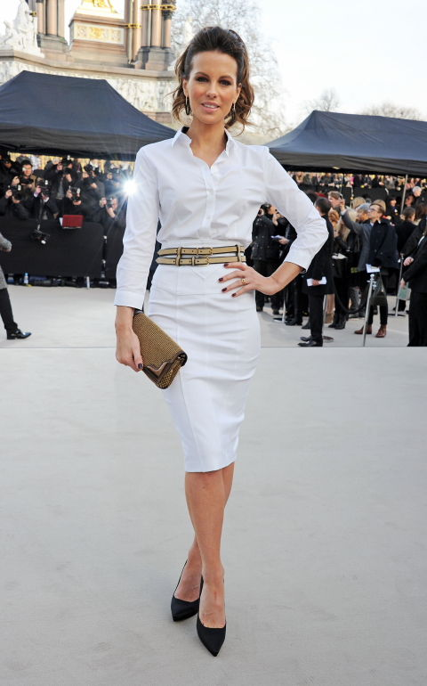 Kate Beckinsale wearing Burberry 0